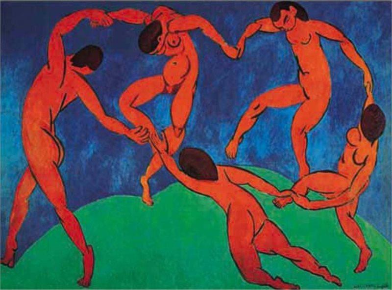 Puzzle EDITIONS RICORDI 1000 dílků - Tanec, Matisse