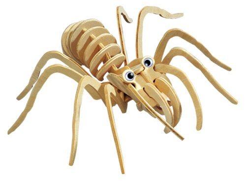 WOODEN TOY , WCK 3D puzzle Tarantule