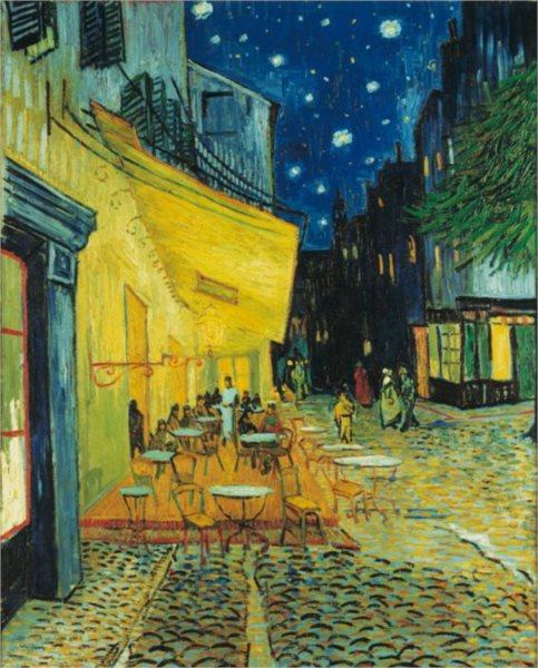 CLEMENTONI Puzzle Terasa kavárny v noci 1000 dílků