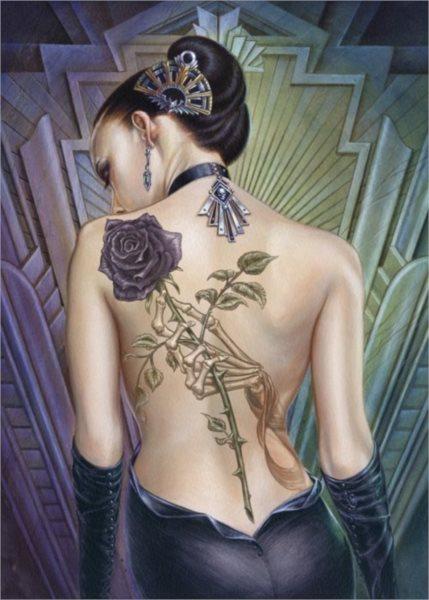 Puzzle CLEMENTONI 1000 dílků - Tetování