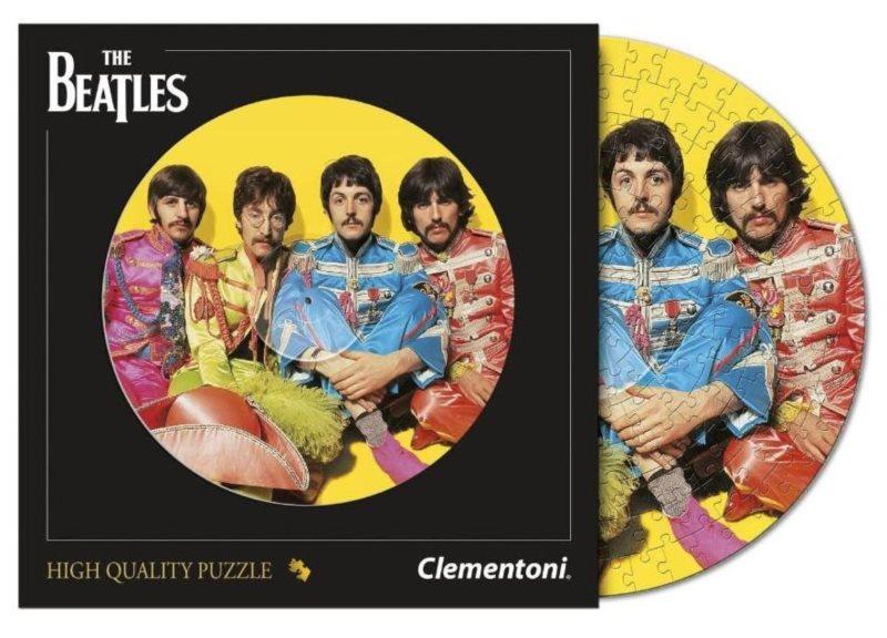 CLEMENTONI Kulaté puzzle The Beatles 212 dílků