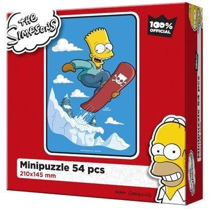 EFKO Puzzle The Simpsons: Bart na snowbordu 54 dílků