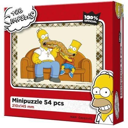EFKO Puzzle The Simpsons: Společná večeře 54 dílků