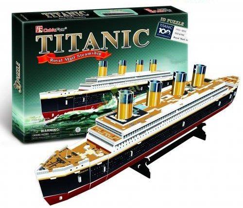 CUBICFUN 3D puzzle Titanic (malý) 35 dílků