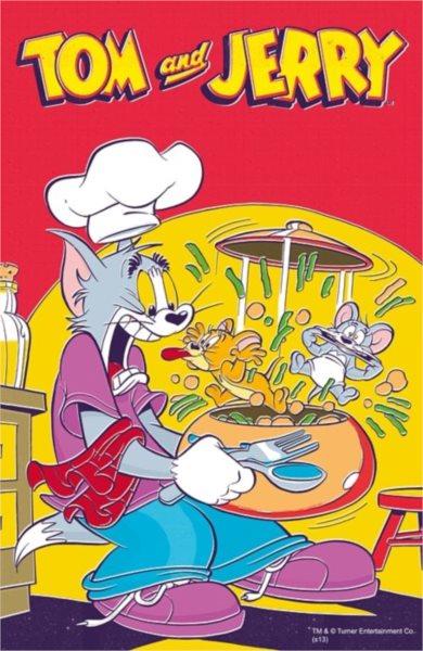 TREFL Puzzle Tom a Jerry: Tom kuchařem 54 dílků