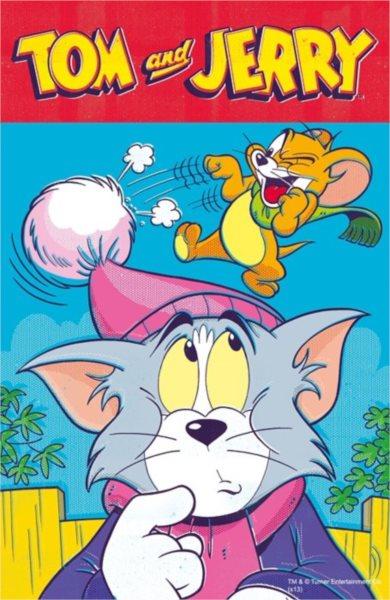 TREFL Puzzle Tom a Jerry: Tomova bambule 54 dílků