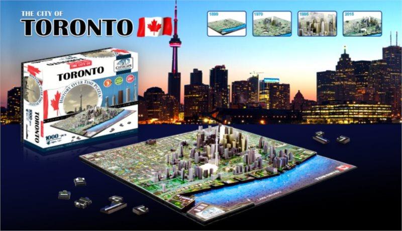 4D Cityscape 4D puzzle Toronto