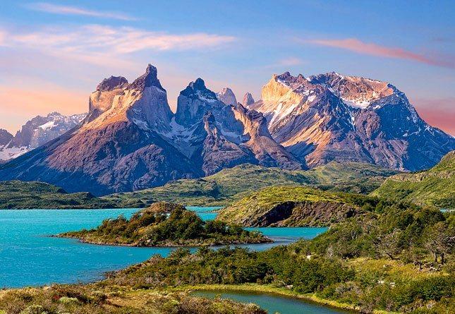 CASTORLAND Puzzle Torres Del Paine 1500 dílků