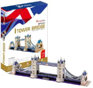 CUBICFUN 3D puzzle Tower Bridge 120 dílků
