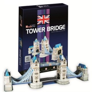 CUBICFUN 3D puzzle Tower Bridge 41 dílků