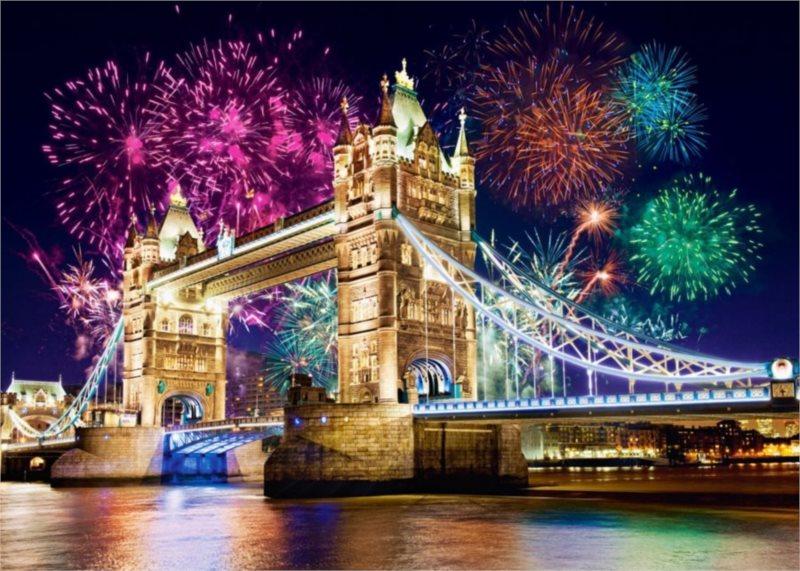 CASTORLAND Puzzle Tower Bridge, Londýn 500 dílků