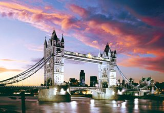 Puzzle CASTORLAND 1000 dílků - Tower Bridge, Londýn