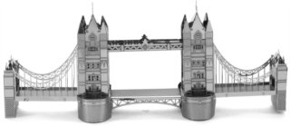 3D kovové puzzle METAL EARTH Tower Bridge, Londýn