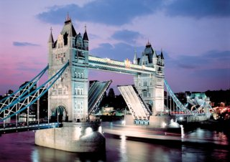 Puzzle TREFL 1000 dílků - Tower Bridge. Londýn