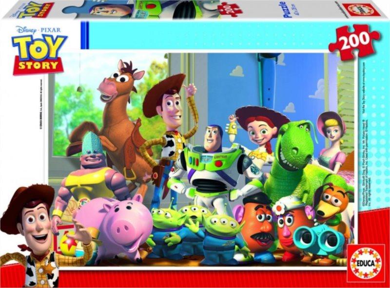 Dětské puzzle EDUCA 200 dílků - Toy Story: Příběh hraček