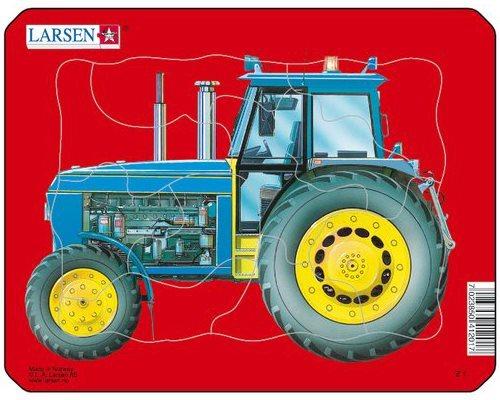 LARSEN Puzzle Traktor 10 dílků