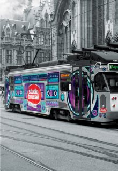 EDUCA Puzzle Tramvaj v Gentu 500 dílků