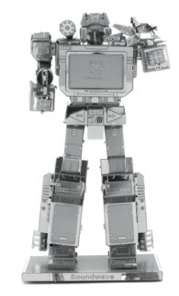 3D kovové puzzle METAL EARTH Transformers: Soundwave