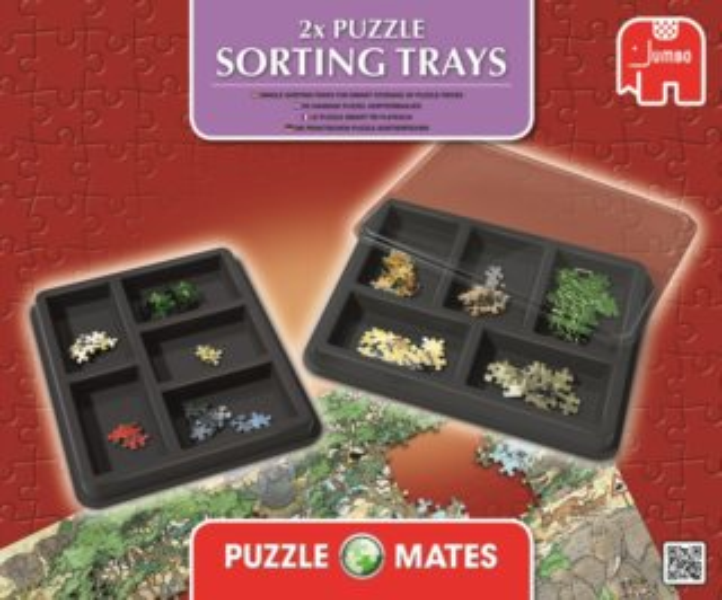 Třídiče na puzzle JUMBO 17692 (Puzzle Sorting Trays)
