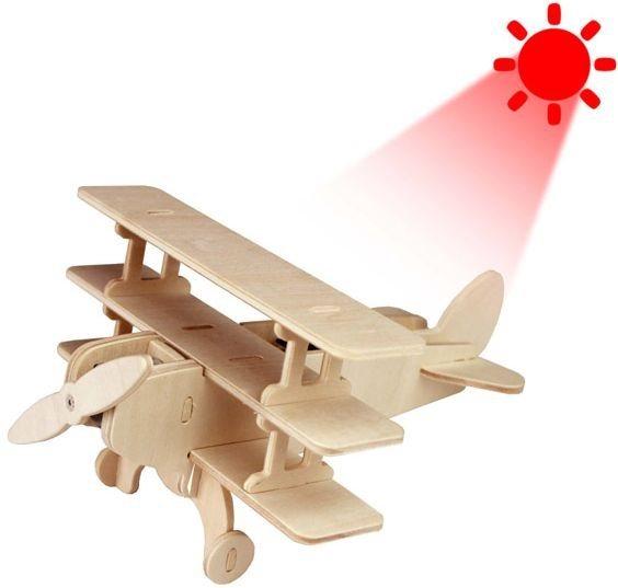 ROBOTIME 3D puzzle Trojplošník solární