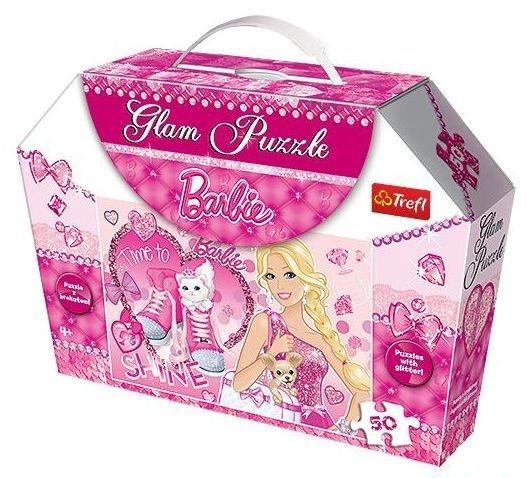 Třpytivé Glam Puzzle: Barbie: Čas zářit 50 dílků