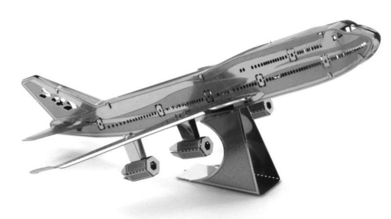 METAL EARTH 3D puzzle Tryskové dopravní letadlo