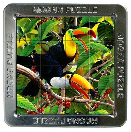 3D magnetické puzzle PIATNIK 16 dílků - Tukani
