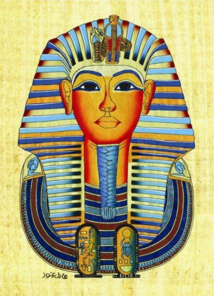 EUROGRAPHICS Puzzle Tutanchamonova maska 1000 dílků