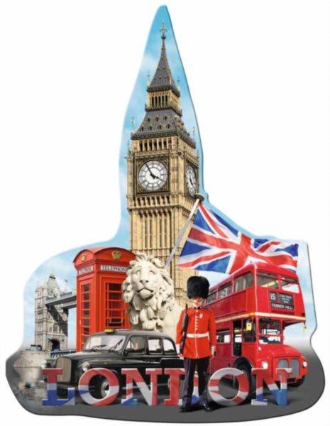 RAVENSBURGER Tvarové puzzle Big Ben, Londýn 1155 dílků