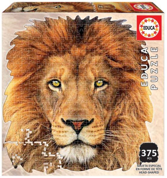 EDUCA Tvarové puzzle Lev 367 dílků
