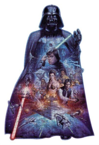 RAVENSBURGER Tvarové puzzle Star Wars 1098 dílků