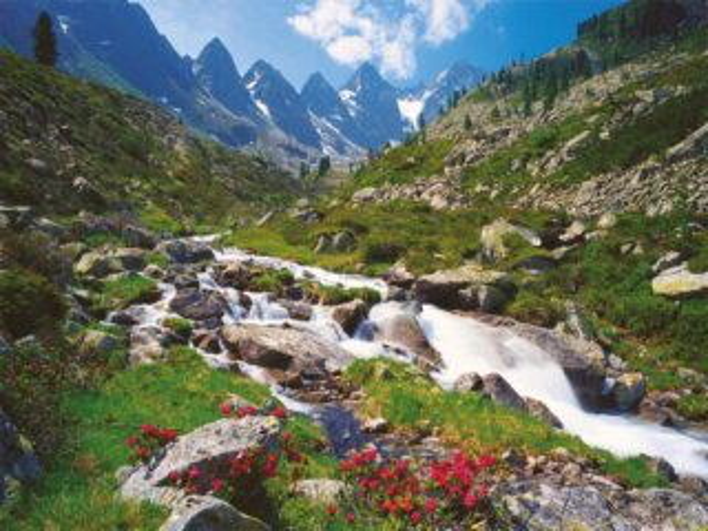 Puzzle RAVENSBURGER 3000 dílků - Tyrolské Alpy, Rakousko