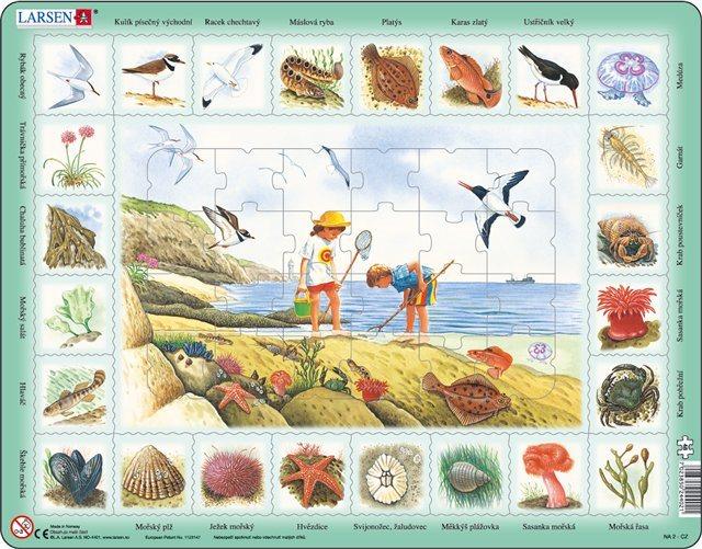 LARSEN Puzzle U moře 48 dílků