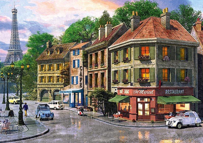 Puzzle TREFL 6000 dílků - Davison: Ulice Paříže