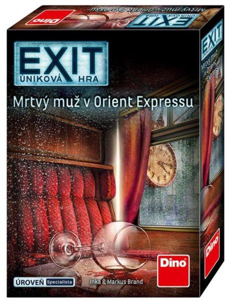 DINO EXIT Úniková hra: Mrtvý muž v Orient Expressu