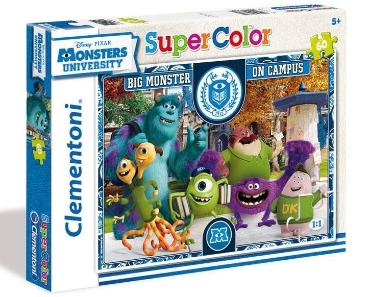 Dětské puzzle 60 dílků - Univerzita pro příšerky: Na akademické půdě