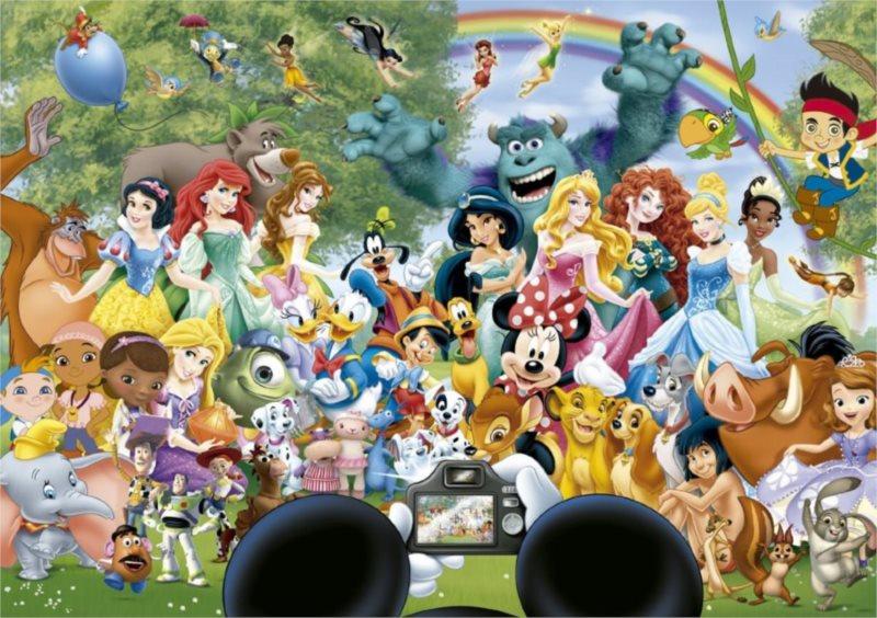 EDUCA Puzzle Úžasný svět Disney II 1000 dílků