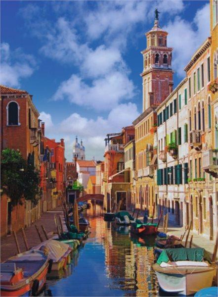 Puzzle RAVENSBURGER 500 dílků - V Benátkách
