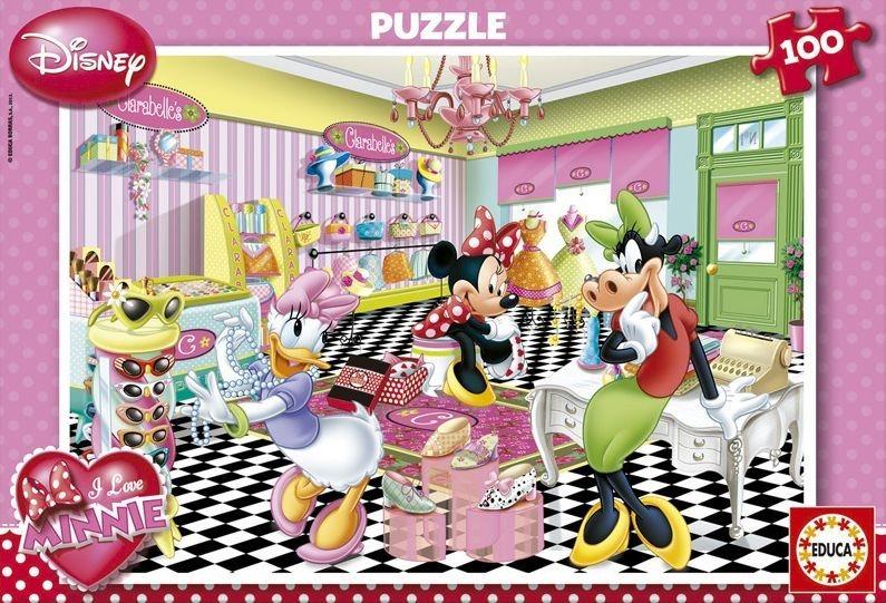 EDUCA Puzzle Minnie 100 dílků