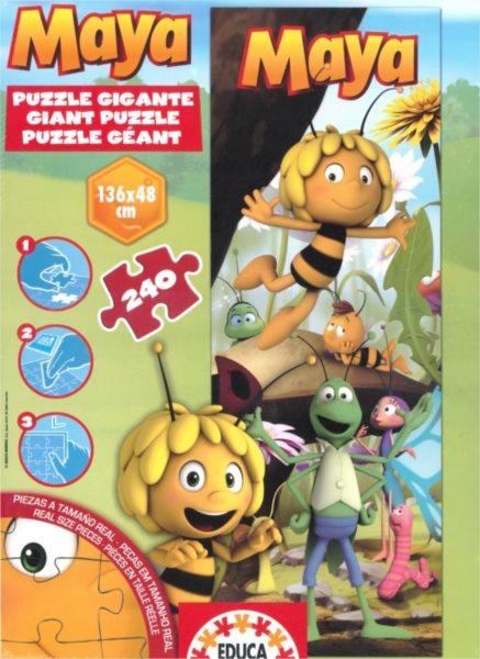 EDUCA Vertikální puzzle Včelka Mája MAXI 240 dílků