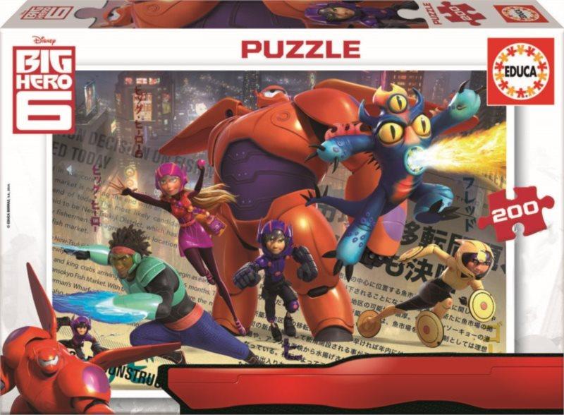EDUCA 16338 Velká šestka - puzzle 200 dílků