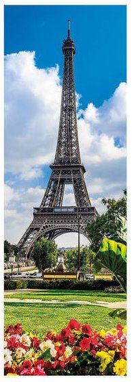 Vertikální puzzle DINO 545342 Eiffelova věž na jaře, Paříž 1000 dílků