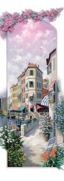 ART PUZZLE Vertikální puzzle Květinové Benátky 1000 dílků