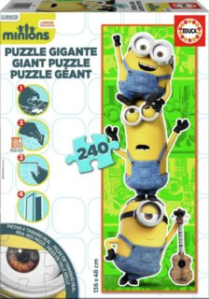 EDUCA Vertikální puzzle Mimoni MAXI 240 dílků