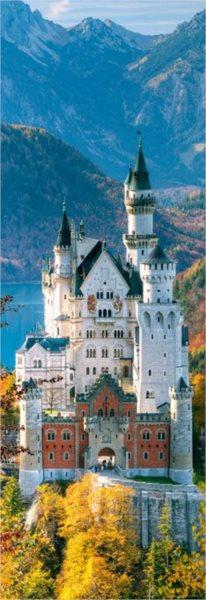 Vertikální puzzle HEYE 1000 dílků - Neuschwanstein