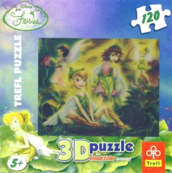 TREFL Puzzle Víla Zvonilka: Tajemná zahrada 3D 120 dílků