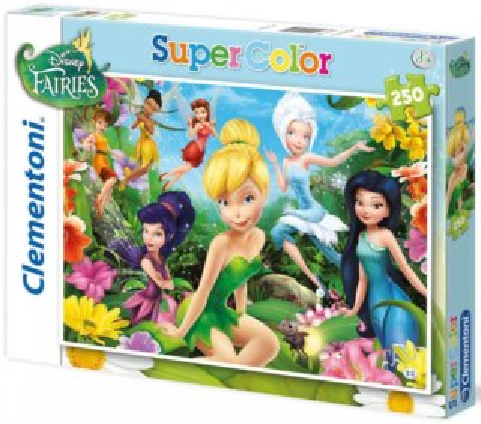 Dětské puzzle 250 dílků - Víla Zvonilka: Na rozkvetlé louce
