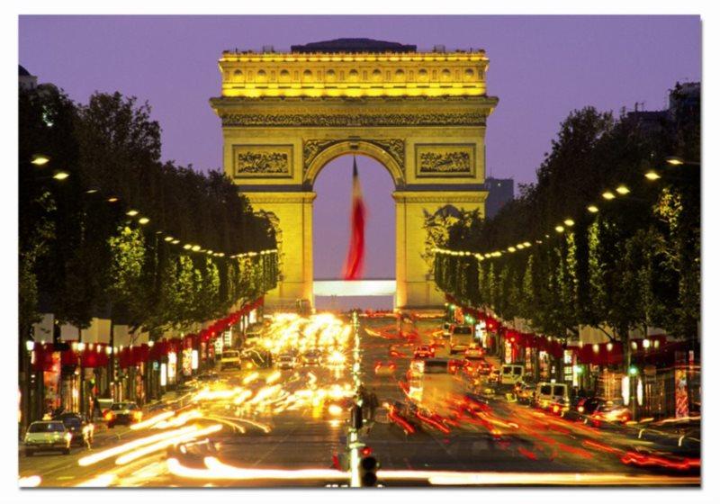 EDUCA poškozený obal: Puzzle Vítězný oblouk, Paříž 1000 dílků
