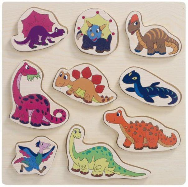 WOODY Vkládačka Dinosauři