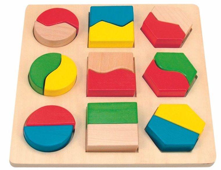 WOODY Vkládačka Geometrické tvary